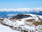 Alta Badia a zimní krajina