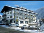 Sella Ronda a hotel Cristallo v zimě