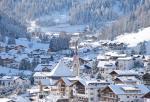 Val Gardena a Wolkenstein v zimě